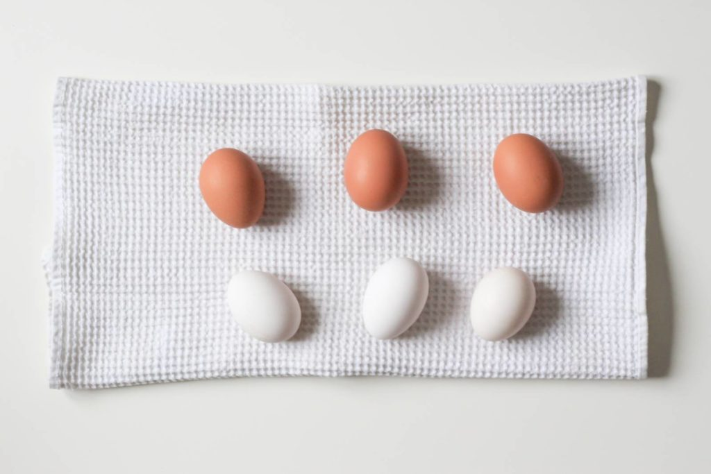 Eggs showing contrast between psychotherapy and counseling
